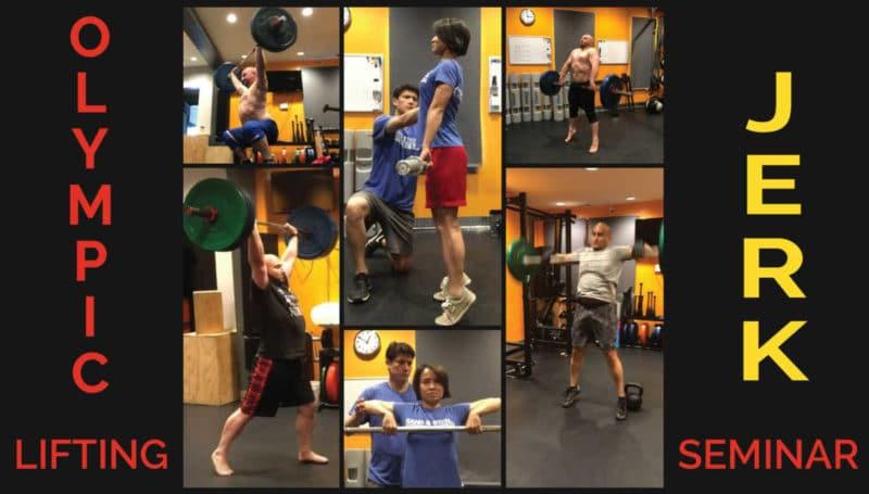 Olympic Lifting - Jerk Seminar