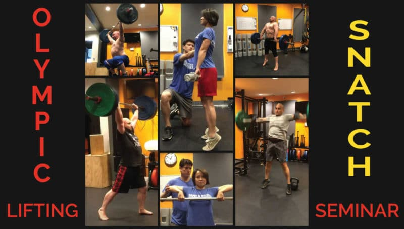 Olympic Lifting - Snatch Seminar