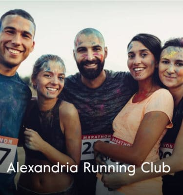 Alexandria Running Club Cover Group Shot