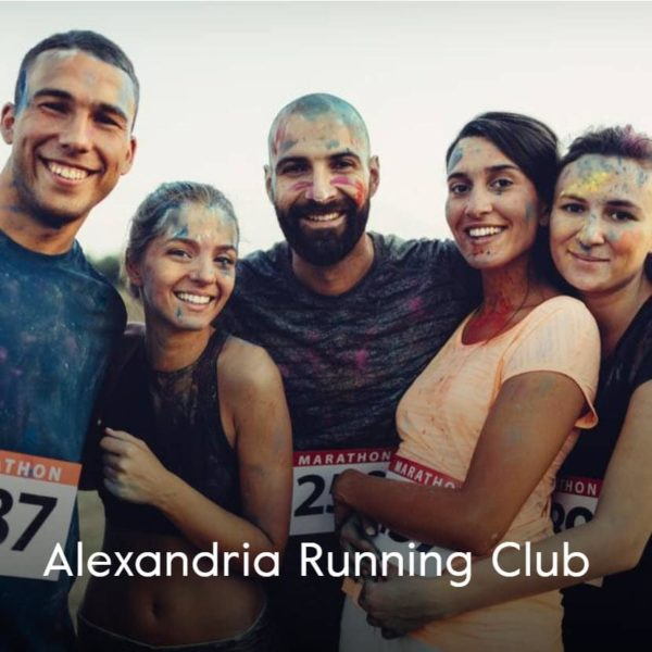 Alexandria Running Club Cover Group Shot