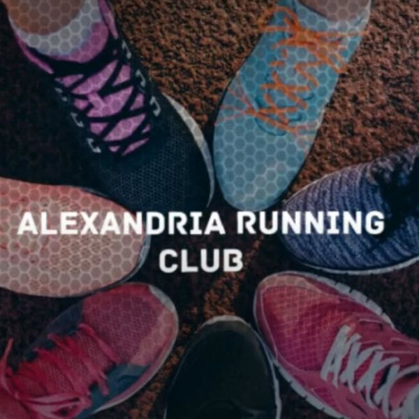 Alexandria Running Club Foot Shot