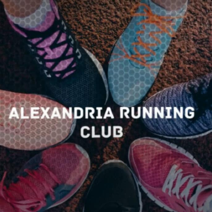 Alexandria Running Club Foot Shot