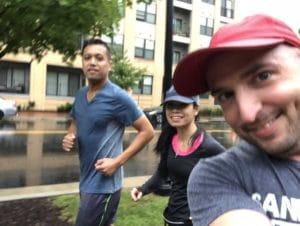 Run Club Selfie