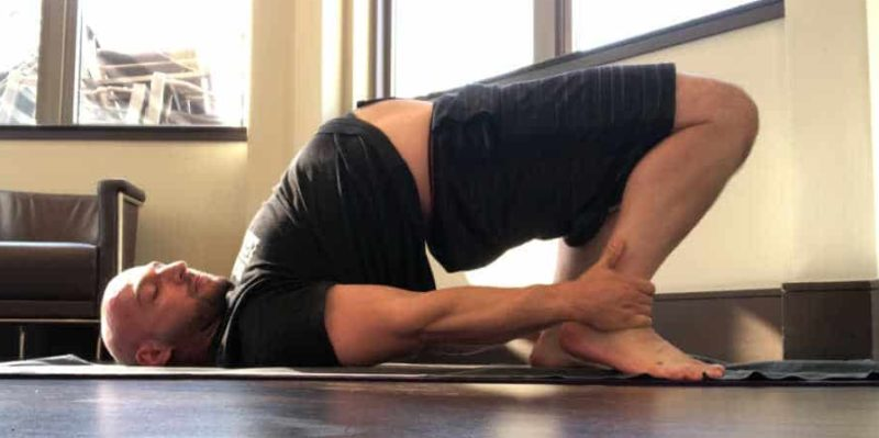Setu Bandha Sarvangasana - Bound Bridge Pose