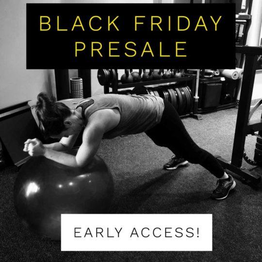 Black Friday Presale