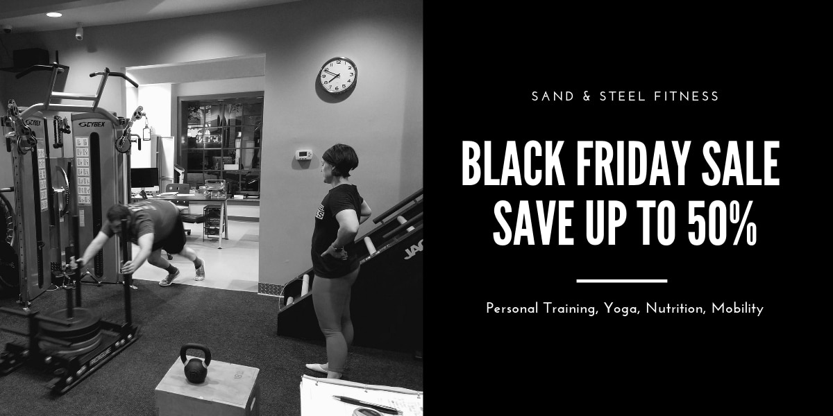 Black Friday Sale Personal Training