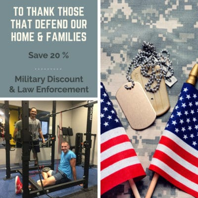 Military Discount 20%