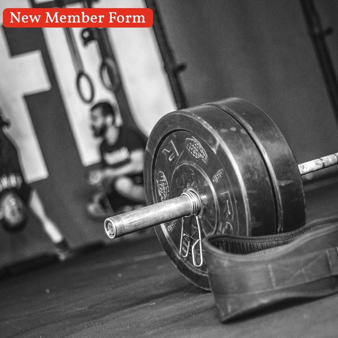 New Member Form