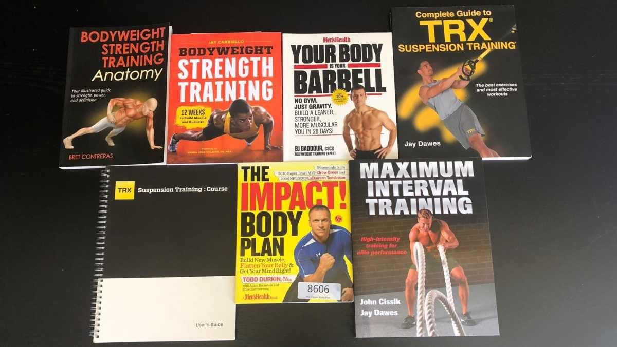 Bodyweight and TRX Training Books
