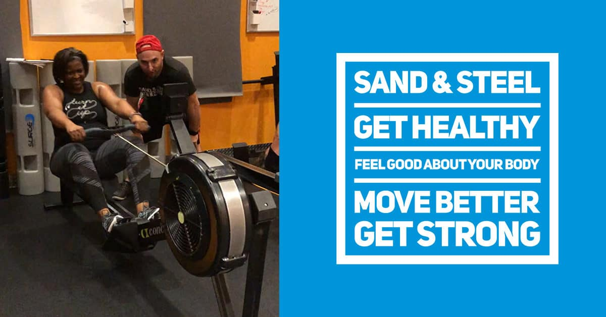 Sand & Steel Fitness Overview. Get Healthy. Feel Good About Your Body. Move Better. Get Strong.