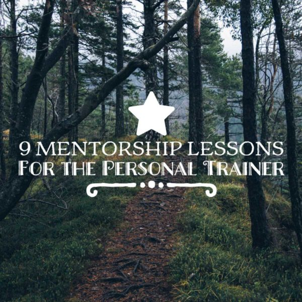 Personal Trainer Certification Mentorship Lessons Square