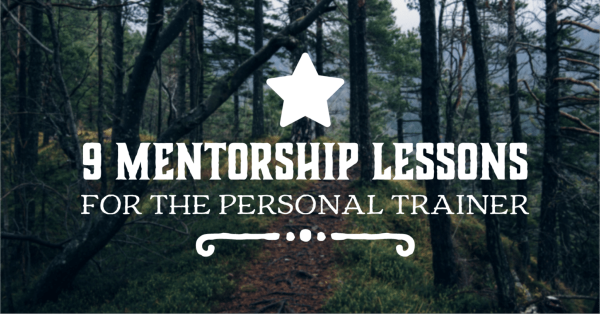 Personal Trainer Certification Mentorship Lessons Wide