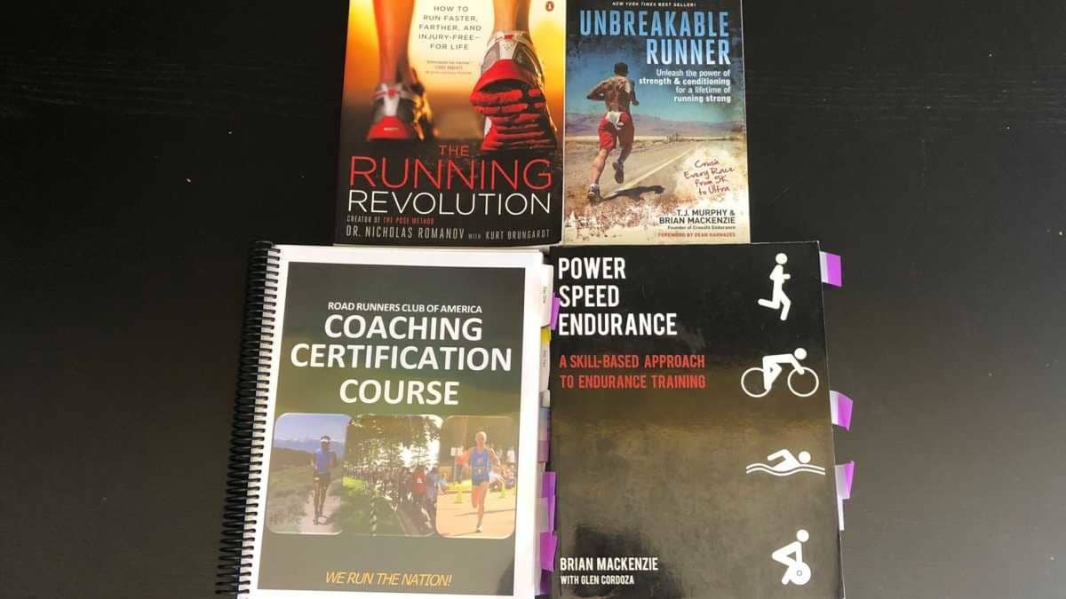 Books on Running and Marathon Prep