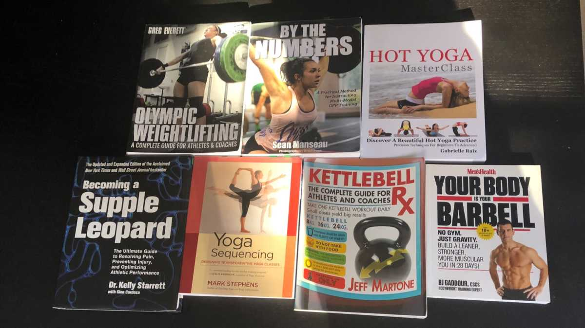 Top 7 Book on Fitness, Yoga, CrossFit