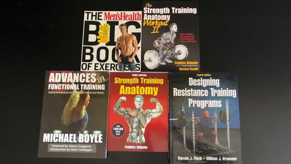 Books on Weight Lifting, Weight Training, Bodybuilding, Personal Training