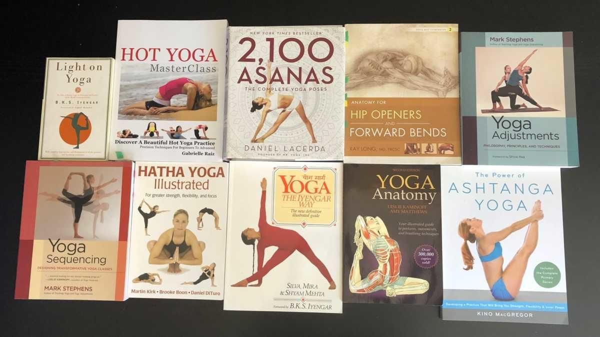 Books on Yoga Asana Hatha Astanga Bikram
