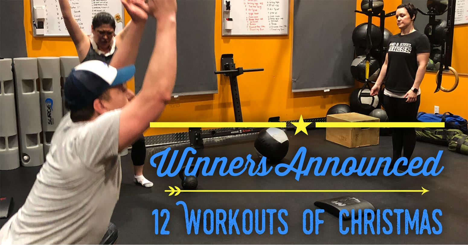 Winners Announced 12 Workouts of Christmas
