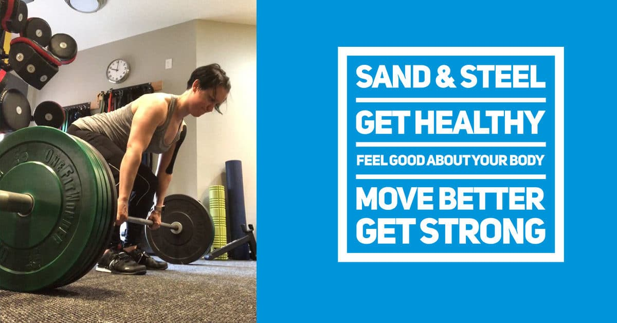 Get Healthy Feel Good Move Better Get Strong. Sand and Steel Old Town Alexandria VA