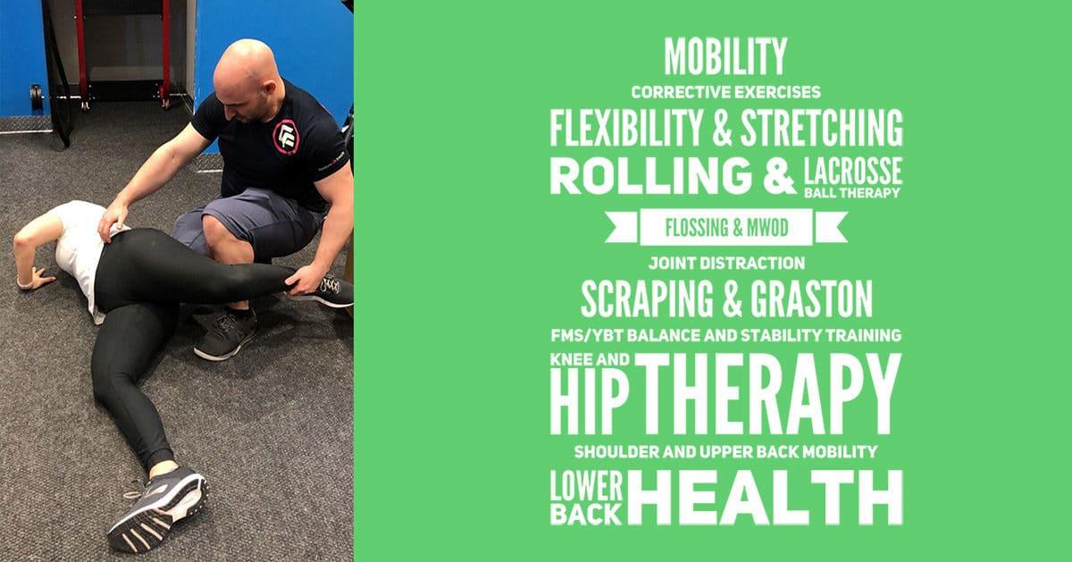 Mobility Stretching Flexibility Scraping Rocktape Graston Therapy Old Town Alexandria VA