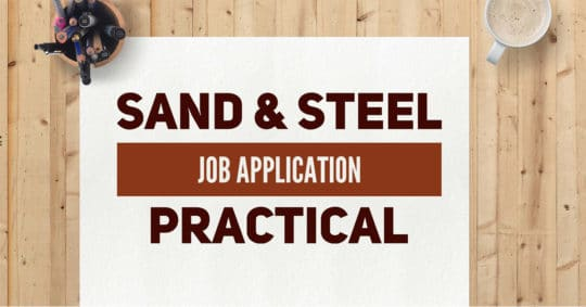 Job Application Practical