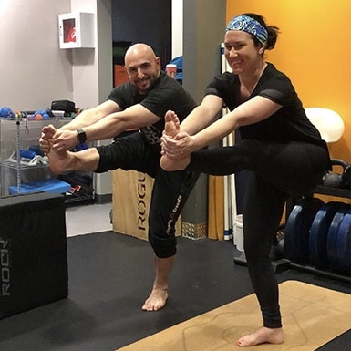 Standing Head to Knee Bikram