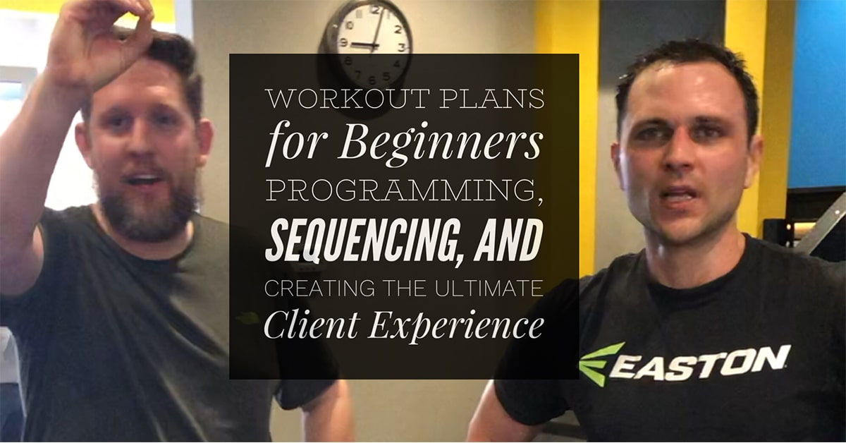 Designing Beginner Workout Plans