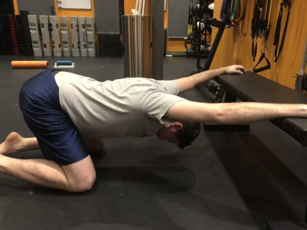 Yoga Modified Child's Pose