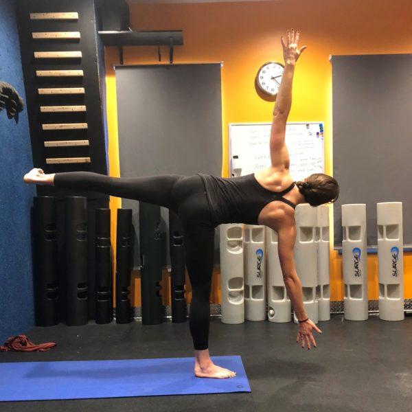 Yoga Standing Half Moon - Ardha Chandrasana