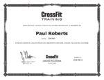 CrossFit Lesson Planning Course Certification
