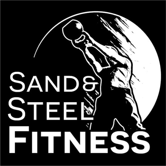 Sand and Steel Fitness and Yoga Logo