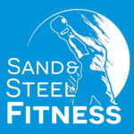 Sand and Steel Fitness and Yoga Logo Blue