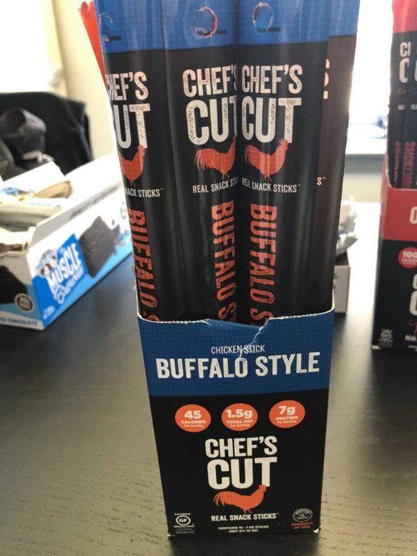 Chef's Cut Protein Sticks Buffalo Style
