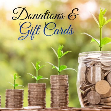 Donations and Gift Cards