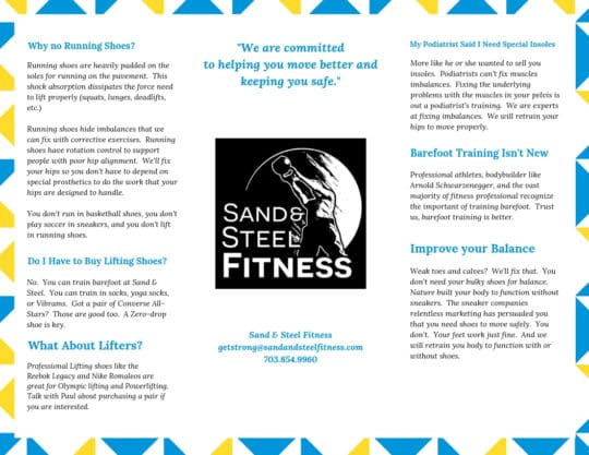 Barefoot Functional Training vs Lifting in Running Shoes 2