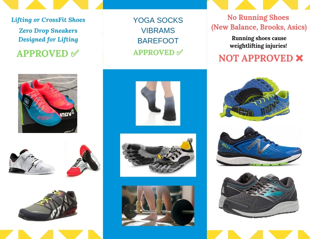 Barefoot Functional Training vs Lifting in Running Shoes