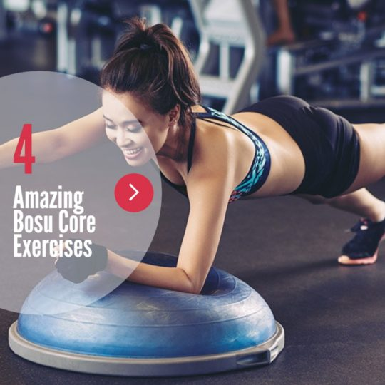 Bosu Core Workout - 4 Amazing Core Exercises with the Bosu IG