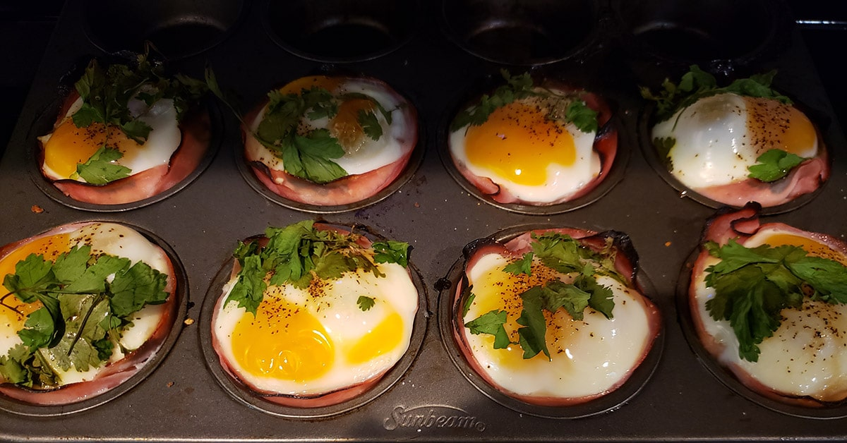 Ham Egg Squash Cup in Tin