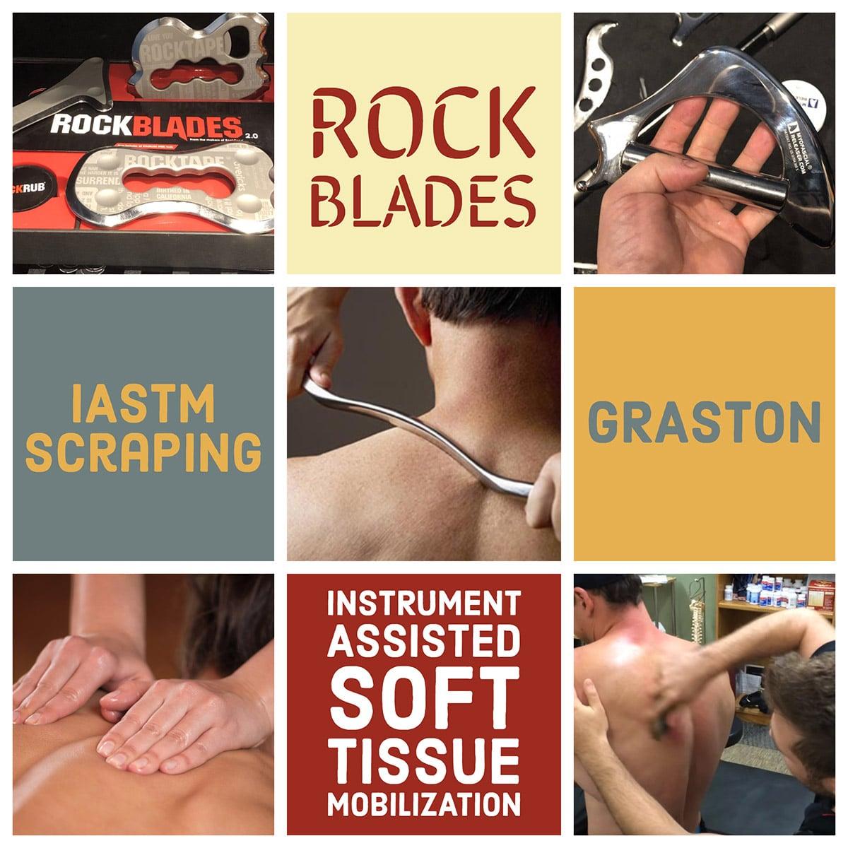 Rock Blades Graston Scraping IASTM