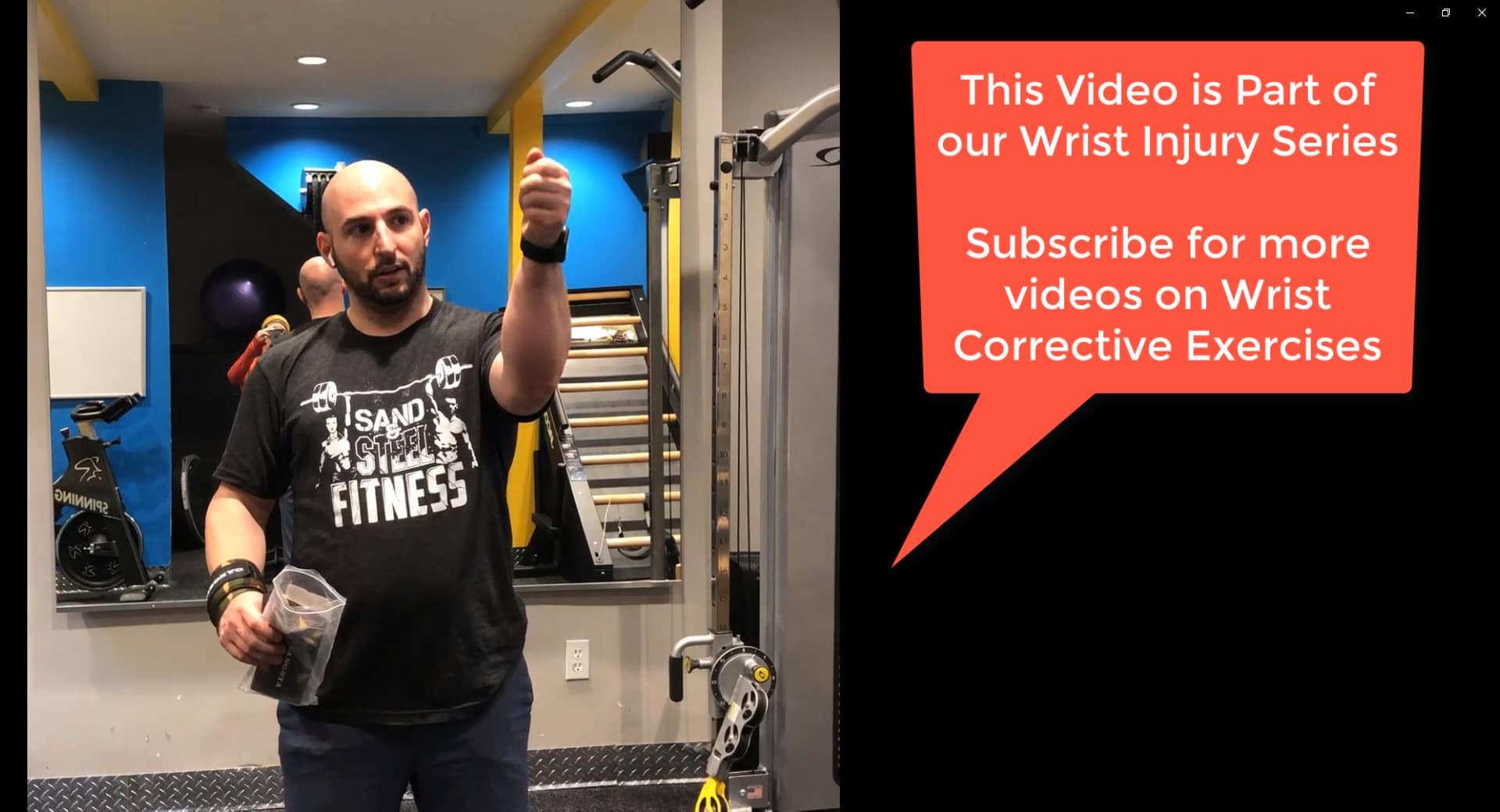 Wrist Injury: Treating Pain in the Radial Carpi Ulnaris