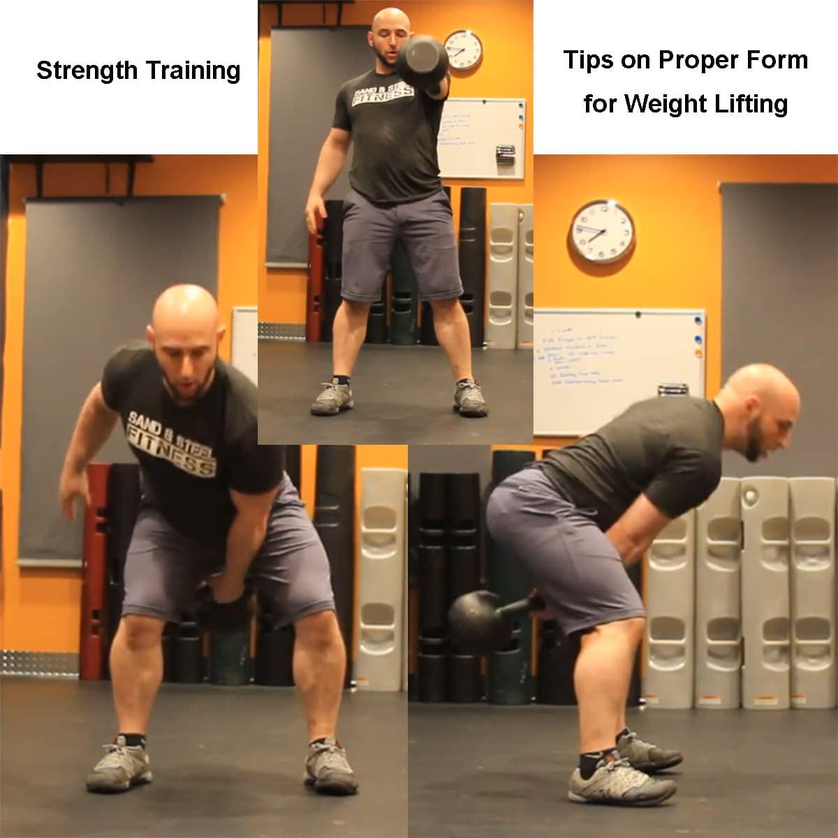 Strength Training Alexandria VA Proper Form