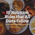 Nutrition Alexandria VA – 10 Rules that All Diets Follow