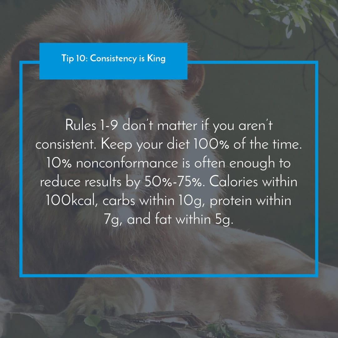 Tip 10_ Consistency is King