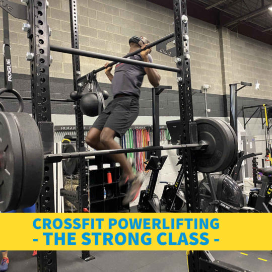 CrossFit Powerlifting <br> The Strong Class