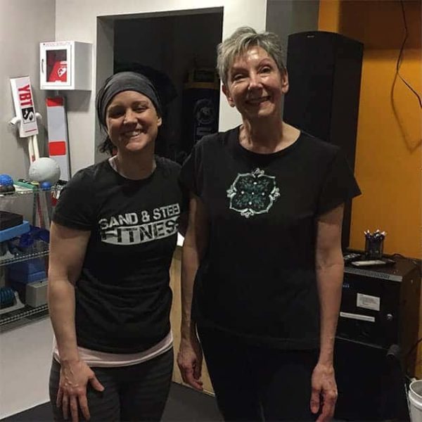 Personal Trainer Senior Older Adult Fit and 50 (dawn)