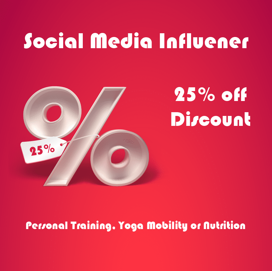 Social Media Influencers Discount