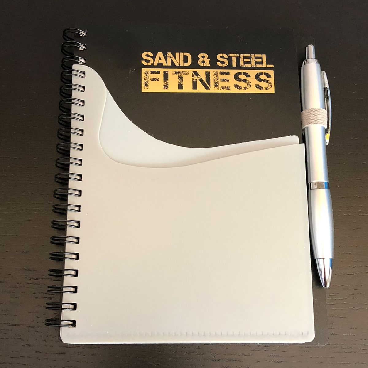 Workout Journal Exercise Log Front