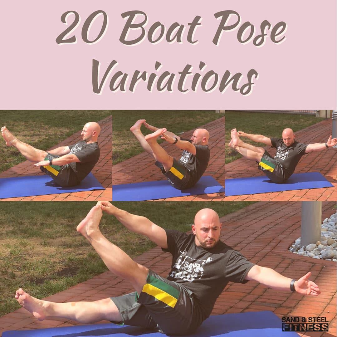 20 Boat Pose Variations Yoga Alexandria