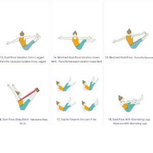 20 boat pose variations yoga studio alexandria va  sand
