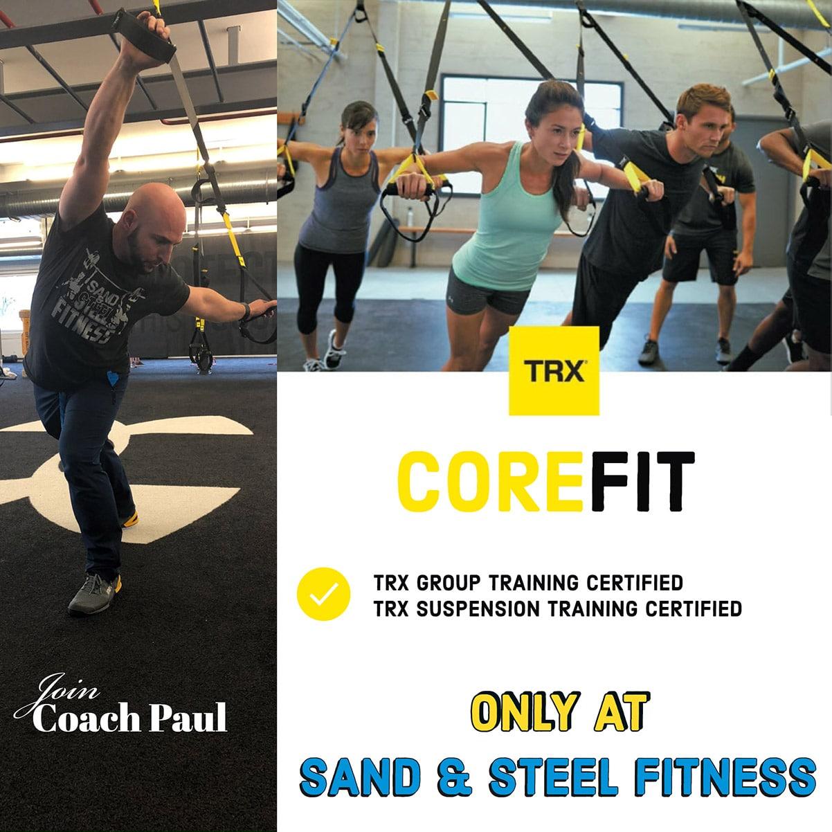 CoreFit TRX Group Certified