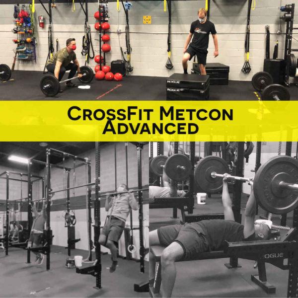 CrossFit Alexandria Metcon Advanced 2